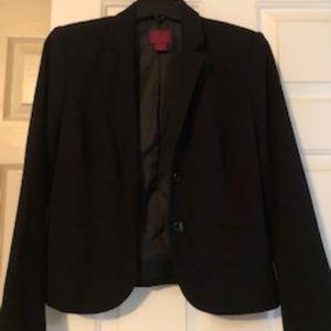 Black 212 Collection Petite Business Blazer